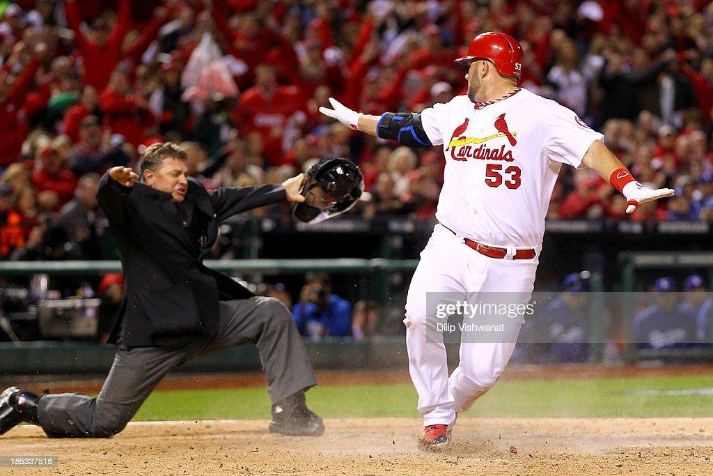 NLCS - Los Angeles Dodgers v St Louis Cardinals - Game Six