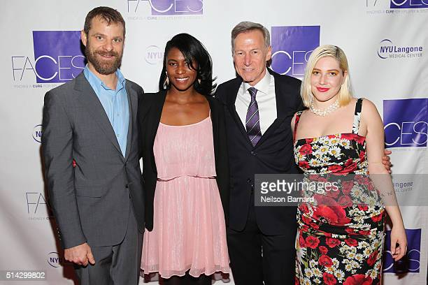 Matt and Angela Stone Orrin Devinsky MD and Georgia Ford attend NYU Langone Medical Center's 2016 FACES Gala on March 7 2016 in New York City