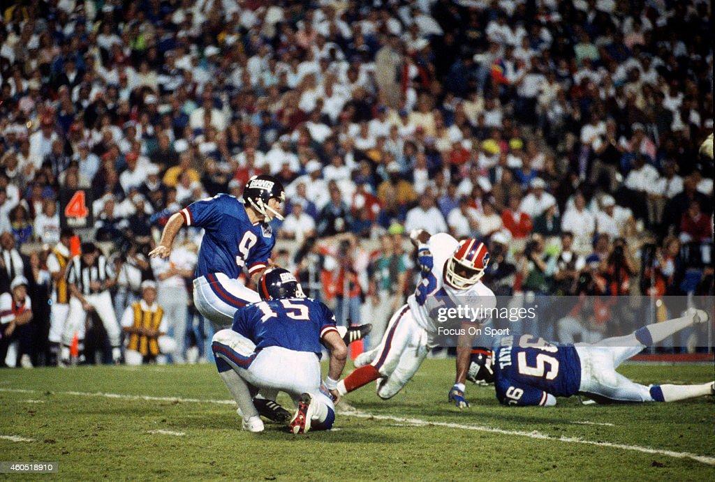 Super Bowl XXV - Buffalo Bills v New York Giants : News Photo
