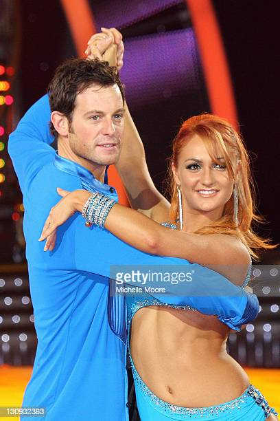 Matt Baker and Aliona Vilani meet the press ahead of the Strictly Come Dancing Live Tour 2011 at Nottingham Capital FM Arena on January 14 2011 in...