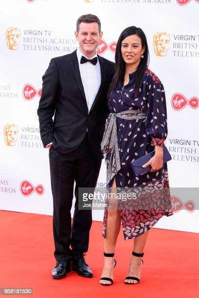 Matt Baker and Liz Bonnin attend the Virgin TV British Academy Television Awards at The Royal Festival Hall on May 13 2018 in London England