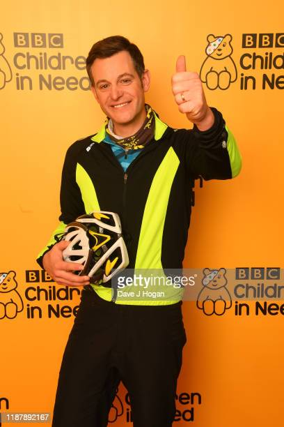 Matt Baker backstage at BBC Children in Need's 2019 Appeal night at Elstree Studios on November 15 2019 in Borehamwood England