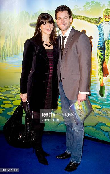 Matt Baker With Wife Nicola Mooney Arrive To The Opening Night Of Totem By Cirque Du Soleil, At The Royal Albert Hall In West London.