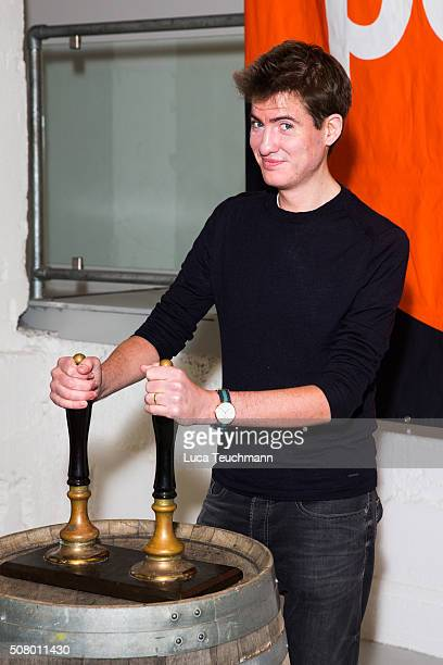 Matt Barber attends for Centrepoint's annual Ultimate Pub Quiz on February 2 2016 in London England