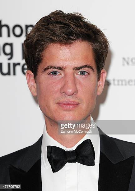 Matt Barber attends The Downton Abbey Ball at The Savoy Hotel on April 30 2015 in London England