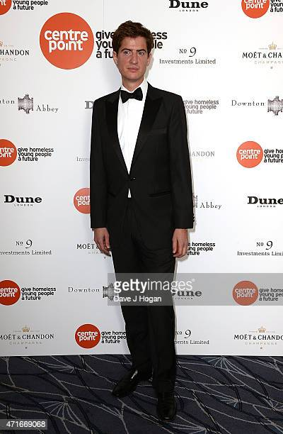Matt Barber attends the Downton Abbey Ball in aid of Centrepoint at The Savoy Hotel on April 30 2015 in London England
