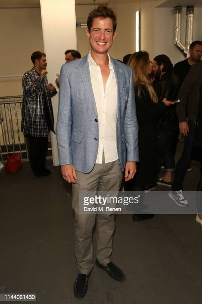 Matt Barber attends the launch of Oliver Cheshire's new resort wear collection 'CHE' on May 16 2019 in London England