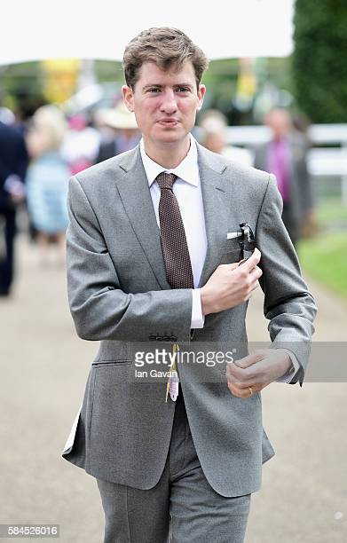 Matt Barber attends the Qatar Goodwood Festival 2016 at Goodwood on July 29 2016 in Chichester England