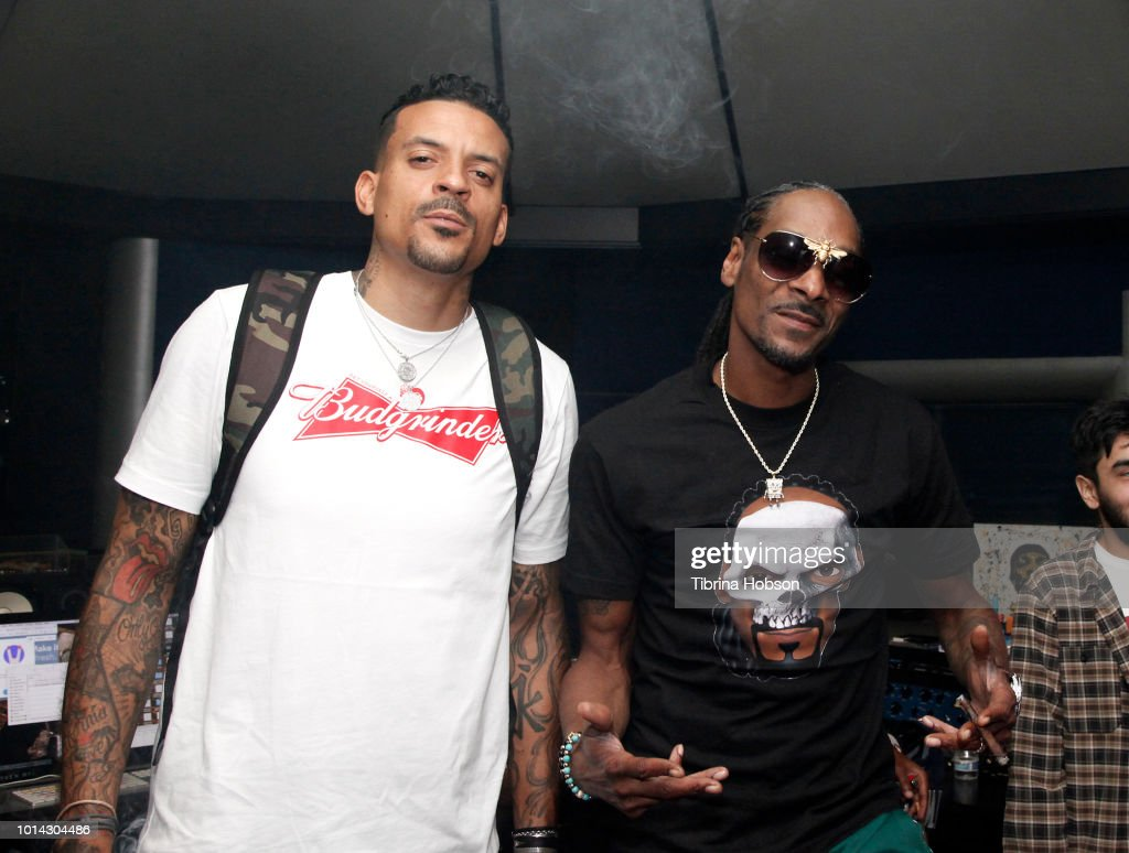 Matt Barnes and Snoop Dogg attend the Athletes vs Cancer Smoke4aCure Event on August 9, 2018 in Inglewood, California.
