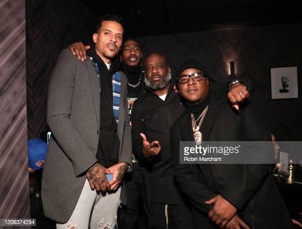 Matt Barnes Iman Shumpert Set Free Richardson and Jadakiss attend The Compound and Luxury Watchmaker Roger Dubuis Hosts NBA AllStar Dinner at STK...