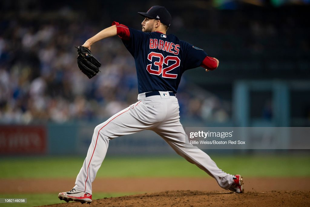 World Series - Boston Red Sox v Los Angeles Dodgers - Game Four (G) : News Photo