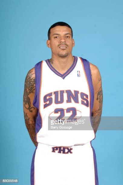 Matt Barnes of the Phoenix Suns poses for a portrait during NBA Media Day on September 29 at US Airways Center in Phoenix Arizona NOTE TO USER User...