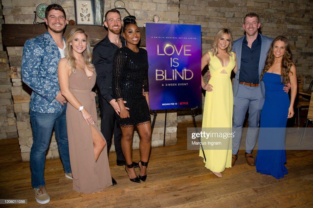 Netflix's Love Is Blind VIP Viewing Party In Atlanta : ニュース写真