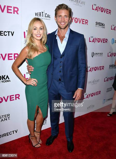 Matt Barr arrives at the Premiere Of DIRECTV And Vertical Entertainment's 'The Layover' at ArcLight Hollywood on August 23 2017 in Hollywood...