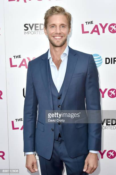 Matt Barr attends the Premiere Of DIRECTV And Vertical Entertainment's 'The Layover' Arrivals at ArcLight Cinemas on August 23 2017 in Hollywood...