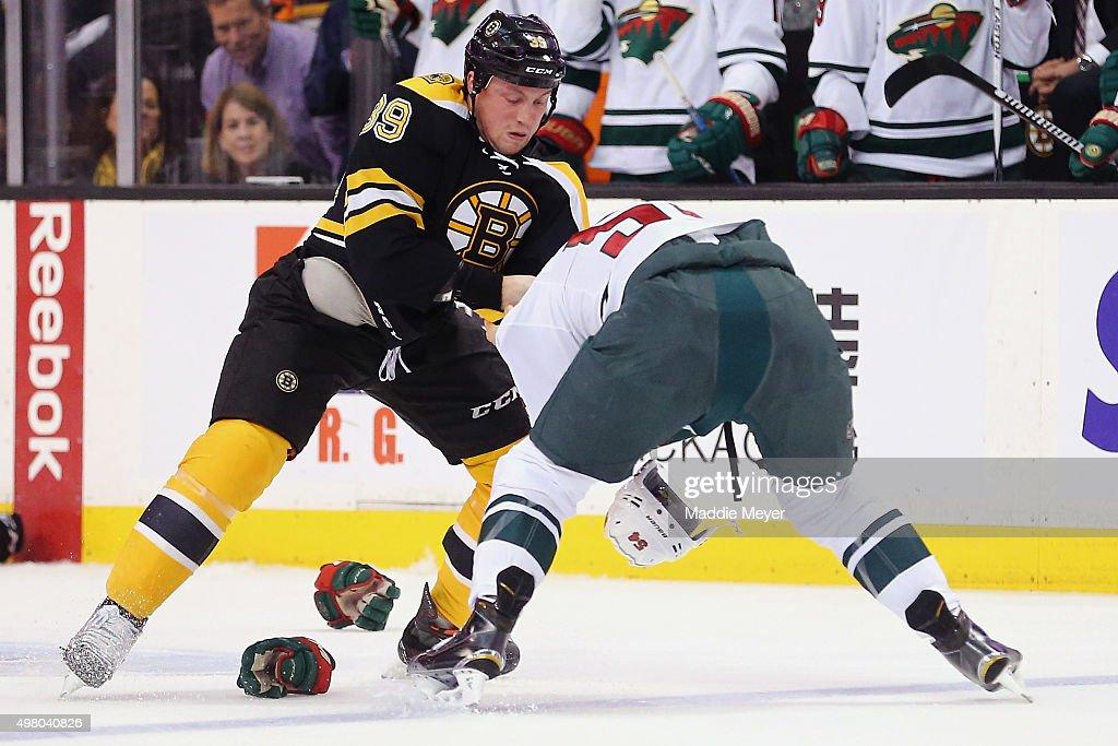 Minnesota Wild v Boston Bruins : News Photo