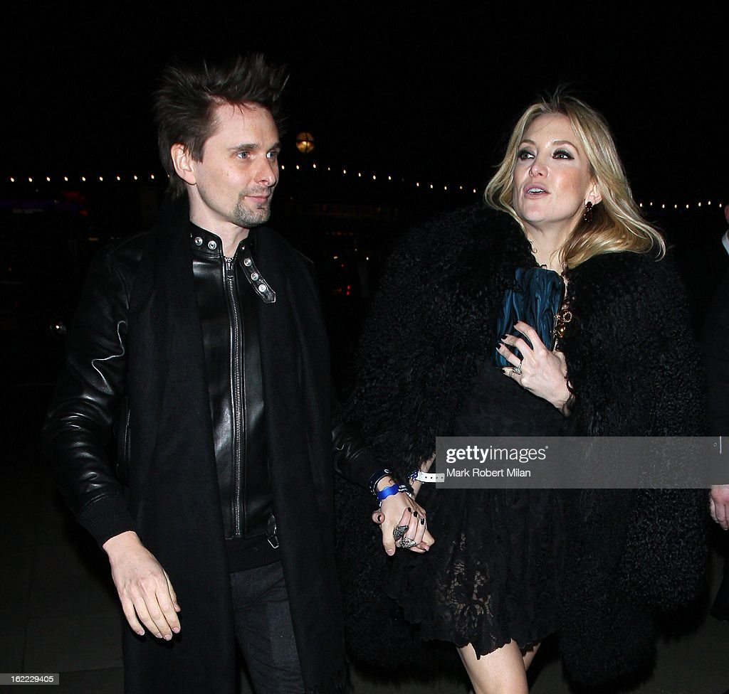 Brits aftershow party sighting in london february 20 2013 photos matt bellamy and kate hudson at the warner music in association with vanity fair brits aftershow voltagebd Image collections
