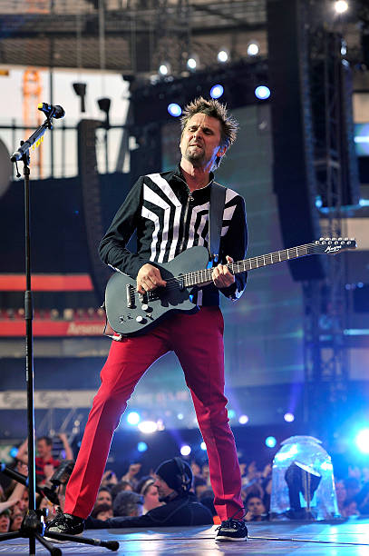 Muse perform at the emirates stadium photos and images getty images matt bellamy of muse performs at emirates stadium on may 25 2013 in london voltagebd Image collections