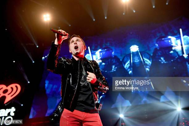 Matt Bellamy of Muse performs on stage during 2019 iHeartRadio ALTer Ego at The Forum on January 19, 2019 in Inglewood, California.