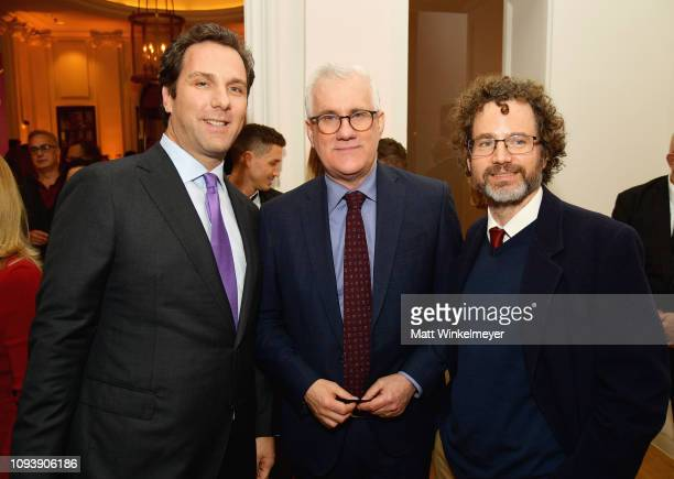 Matt Belloni Editorial Director at The Hollywood Reporter and Boris Kit attend The Hollywood Reporter's 7th Annual Nominees Night presented by...