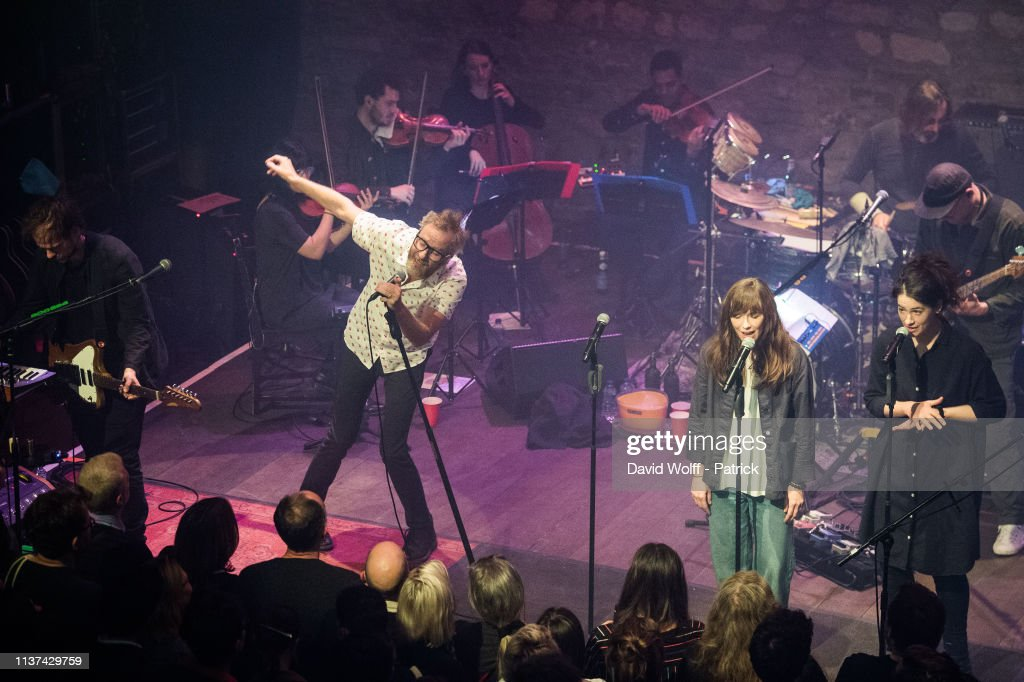 FRA: The National Performs At Cafe De La Danse In Paris