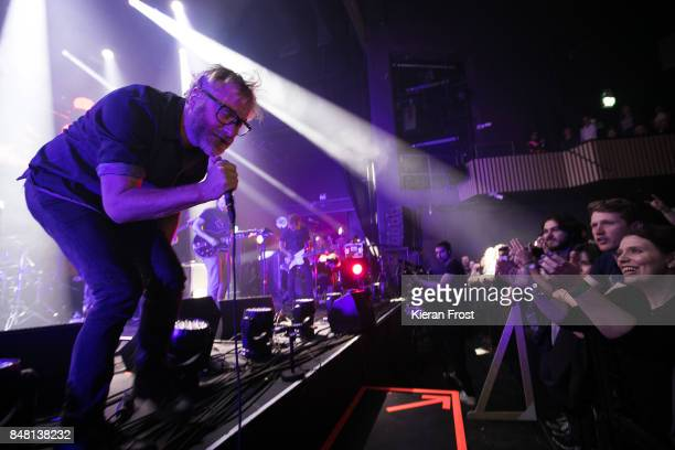 Matt Berninger of The National performs at Cork Opera House as part of Sounds From A Safe Harbour festival on September 16 2017 in Cork Ireland