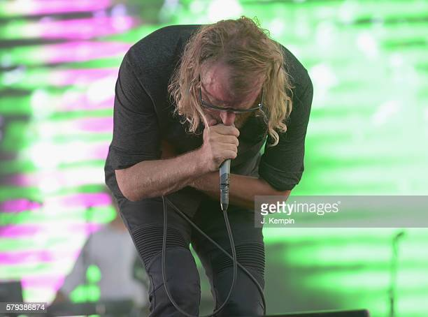 Matt Berninger of The National performs onstage 2016 Panorama NYC Festival Day 2 at Randall's Island on July 23 2016 in New York City