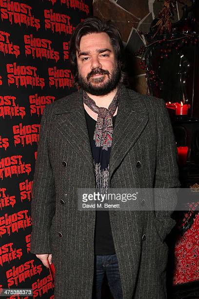 Matt Berry attends the after party for the press night of Ghost Stories at on February 27 2014 in London England