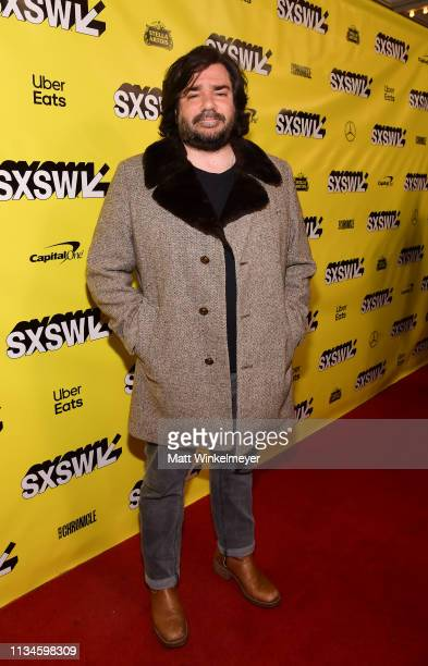 """Matt Berry attends the """"What We Do in the Shadows"""" Premiere 2019 SXSW Conference and Festivals at the Paramount Theater on March 08, 2019 in Austin,..."""