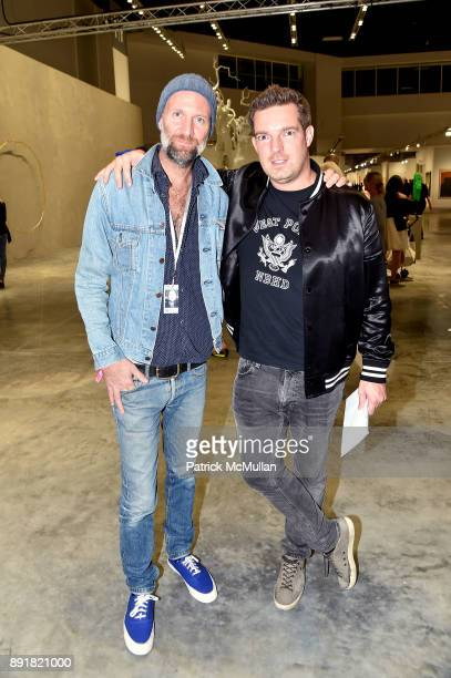 Matt Black and Fabian Moreau attend Art Basel Miami Beach Private Day at Miami Beach Convention Center on December 6 2017 in Miami Beach Florida