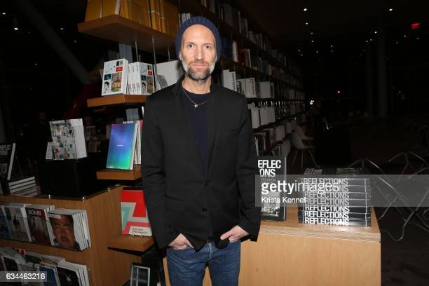 """Matt Black atttends Assouline celebrates the launch of """"Reflections"""" with Matt Black & Jose Parla at The Whitney Museum of American Art on February..."""
