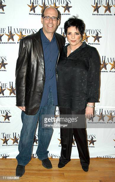 Matt Blank and Liza Minnelli during 13th Annual Hamptons International Film Festival Liza With a Z Premiere at Guild Hall in East Hampton New York...