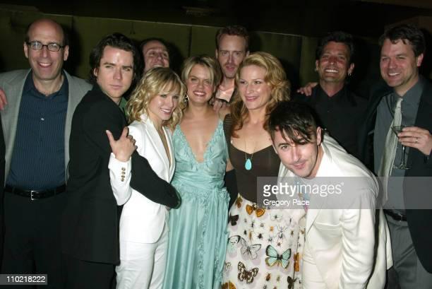 Matt Blank CEO/chairman of Showtime Christian Campbell Kristen Bell Amy Spanger Robert Greenblatt Showtime President of Entertainment Ana Gasteyer...