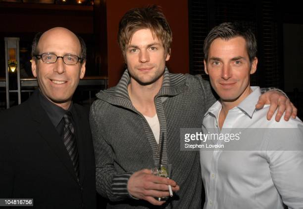Matt Blank Chairman and CEO of Showtime Networks Gale Harold from Queer as Folk and Will Wackerman Publisher of Details Magazine