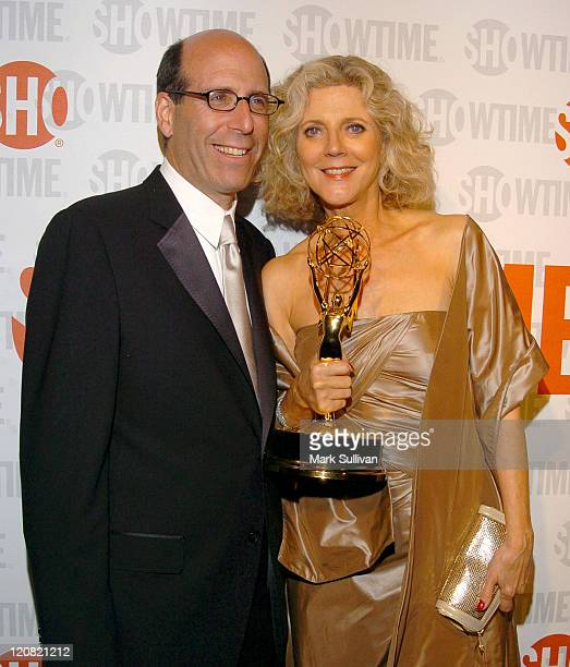 Matt Blank chairman and CEO Showtime and Blythe Danner