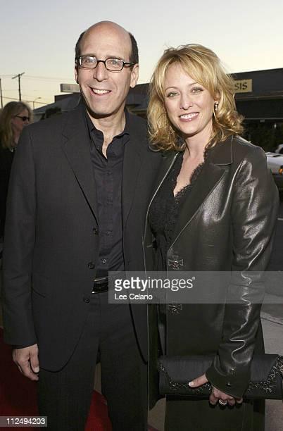 Matt Blank chairman/CEO of Showtime Network and Virginia Madsen