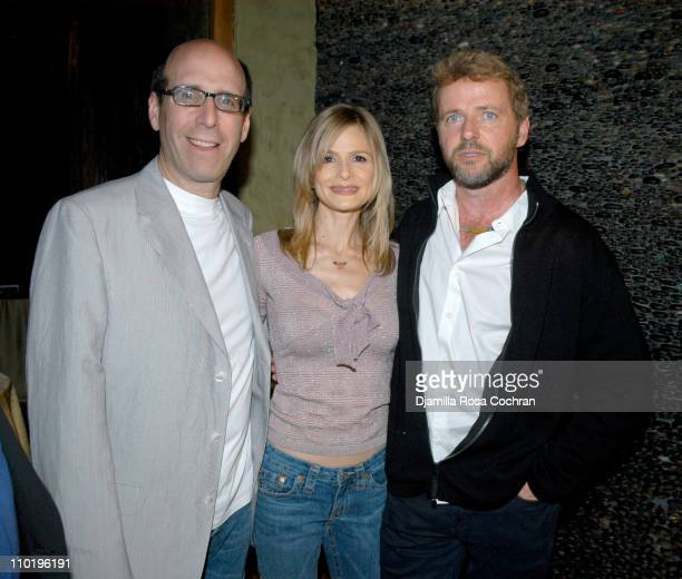 Matt Blank Kyra Sedgwick and Aidan Quinn during 3rd Annual Tribeca Film Festival Showtime Party at Nobu in New York City New York United States