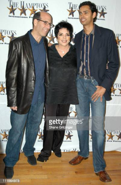 Matt Blank Liza Minnelli and Rajendra Roy during 13th Annual Hamptons International Film Festival Liza With a Z Premiere at Guild Hall in East...