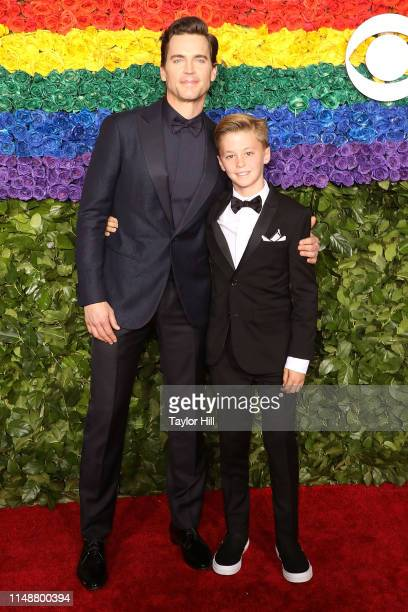 Matt Bomer and Henry Halls attend the 2019 Tony Awards at Radio City Music Hall on June 9 2019 in New York City