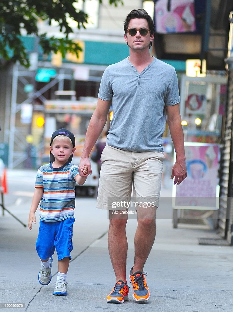Celebrity Sightings In New York City - August 13, 2012