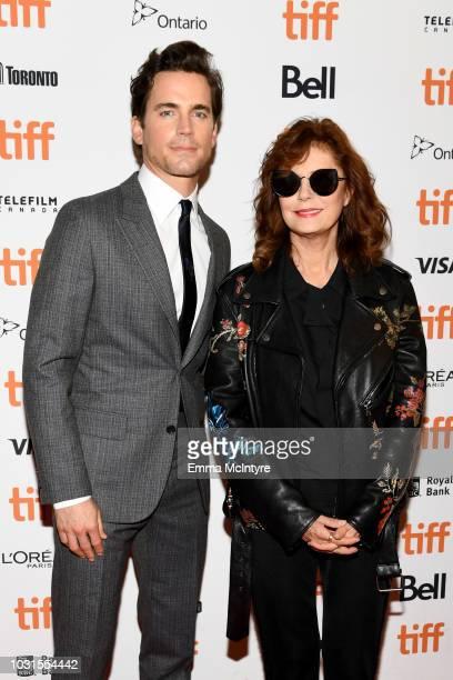 Matt Bomer and Susan Sarandon attend the Viper Club premiere during 2018 Toronto International Film Festival at Winter Garden Theatre on September 11...