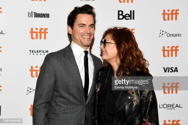 Matt Bomer and Susan Sarandon attend the Viper Club premiere during 2018 Toronto International Film Festival at Winter Garden Theatre on September 11...