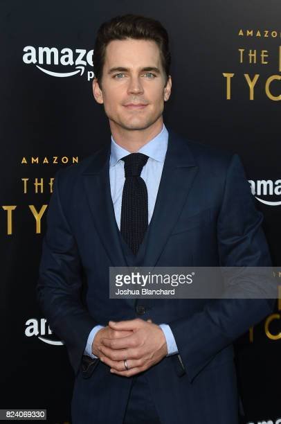 Matt Bomer arrives at the Premiere Of Amazon Studios' The Last Tycoon at the Harmony Gold Preview House and Theater on July 27 2017 in Hollywood...