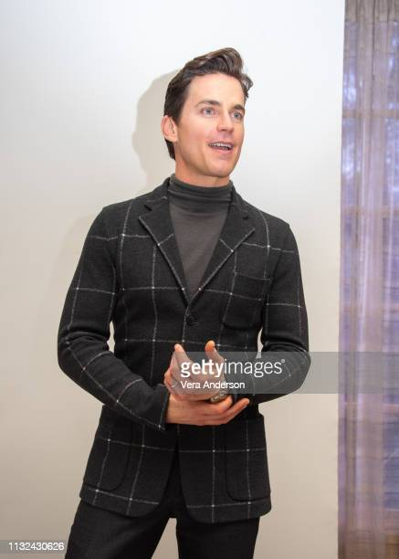Matt Bomer at the Doom Patrol Press Conference at the Four Seasons Hotel on February 26 2019 in Beverly Hills California