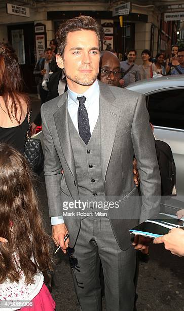Matt Bomer at the Ivy restaurant on June 30 2015 in London England