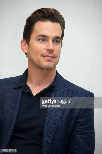 Matt Bomer at the 'Magic Mike XXL' Press Conference at The London West Hollywood on June 19 2015 in West Hollywood California