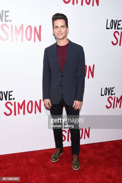 Matt Bomer attends a special screening of 20th Century Fox's 'Love Simon' at Westfield Century City on March 13 2018 in Los Angeles California