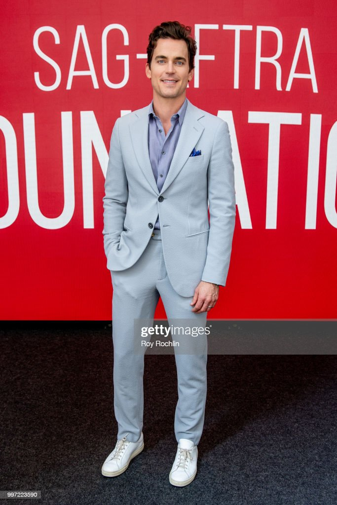 Matt Bomer attends SAG-AFTRA Foundation's Conversations on Broadway with Matt Bomer at The Robin Williams Center on July 12, 2018 in New York City.