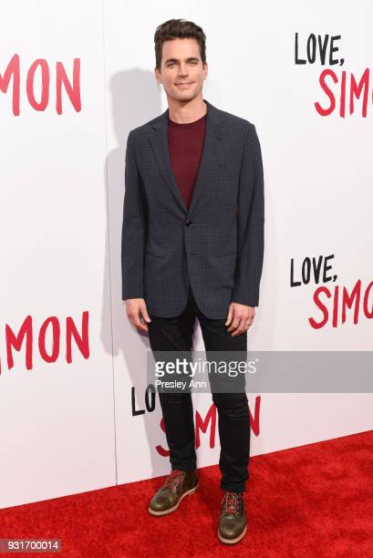 Matt Bomer attends Special Screening Of 20th Century Fox's 'Love Simon' Arrivals at Westfield Century City on March 13 2018 in Century City California