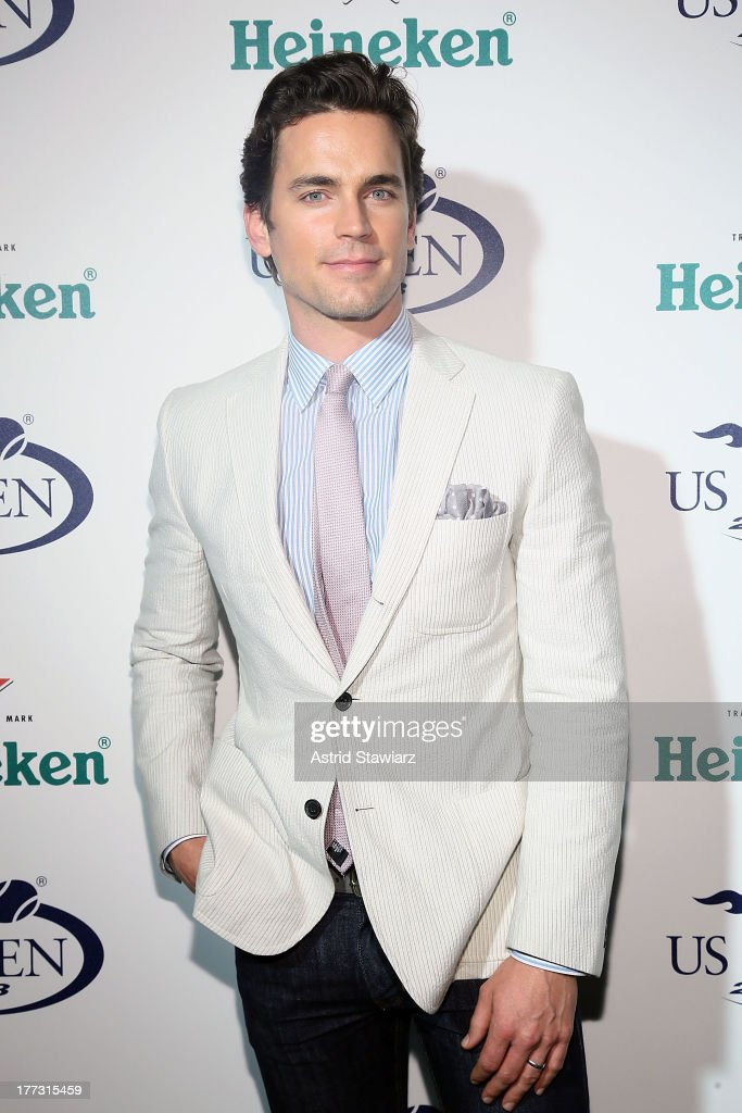 Matt Bomer attends the 2013 US Open Kick-Off Party at PH-D Rooftop Lounge at Dream Downtown on August 22, 2013 in New York City.
